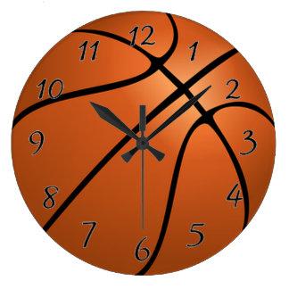Basket Ball Large Clock
