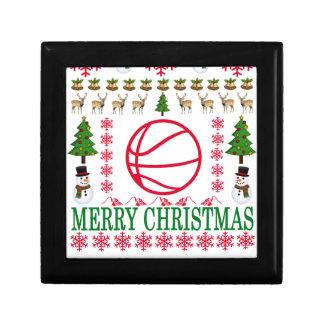 BASKET BALL MERRY CHRISTMAS . GIFT BOX