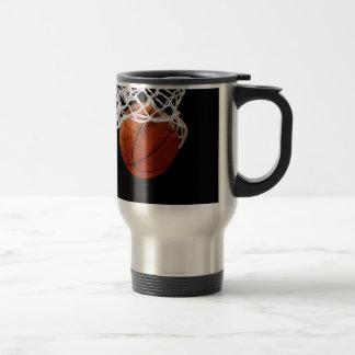 Basket-ball Mug De Voyage En Acier Inoxydable