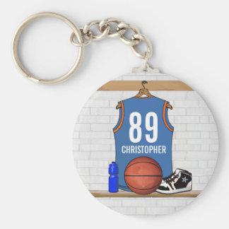 Basket-ball personnalisé Jersey RES Porte-clef