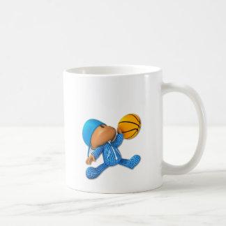 Basket-ball semi-transparent tasse