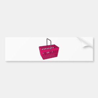 Basket Bumper Sticker