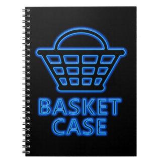 Basket case. notebook