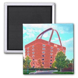Basket Central Square Magnet