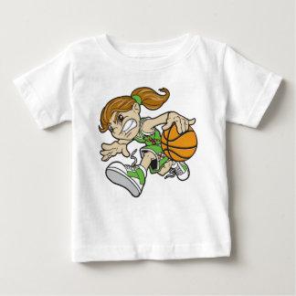 BASKET GIRL AUTISM RIBBON BABY T-Shirt