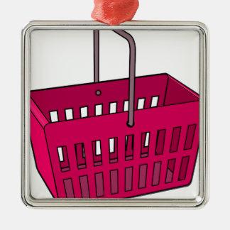 Basket Metal Ornament