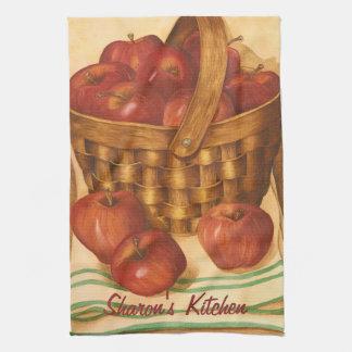 Basket of Apples - Kitchen Towel