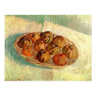 Basket of Apples to Lucien Pissarro - van Gogh Postcard