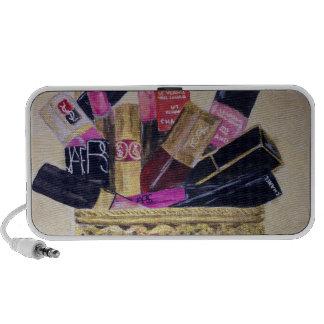 Basket of Cosmetics Travel Speaker