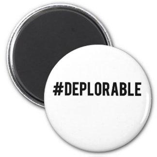 Basket of deplorables 2 inch round magnet