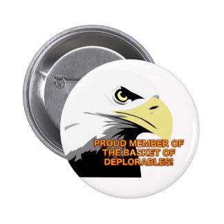 Basket of Deplorables Trump Button