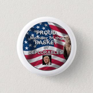 """Basket of Deplorables Trump Supporter button"