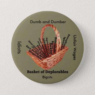 Basket of Deplorables Words Button