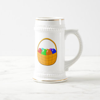 Basket of Easter Eggs Beer Stein
