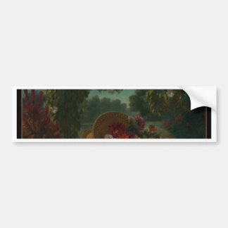 Basket of Flowers Bumper Sticker