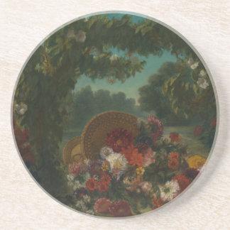 Basket of Flowers Coaster