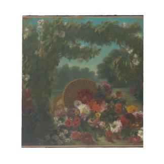 Basket of Flowers Notepad