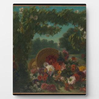 Basket of Flowers Plaque