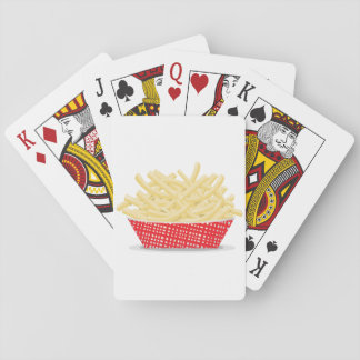 Basket Of French Fries Playing Cards