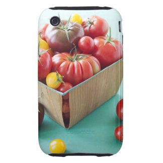 Basket of Heirloom Tomatoes iPhone 3 Tough Case