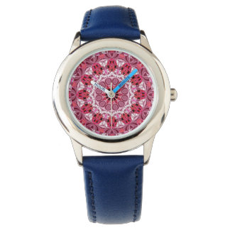 Basket of Jewels, Abstract Ruby Lace Candy Watches