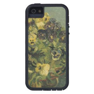 Basket of pansies iPhone 5 cases