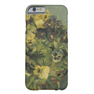 Basket of pansies iPhone 6 case Barely There iPhone 6 Case