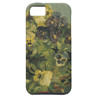Basket of Pansies on a Small Table by Van Gogh iPhone 5 Case