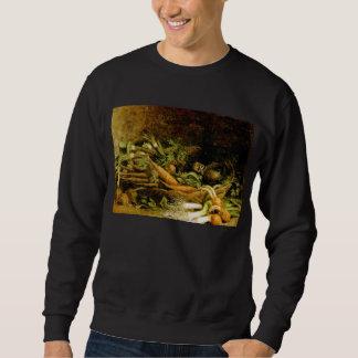 Basket of Vegetables Van Gogh Fine Art Sweatshirt