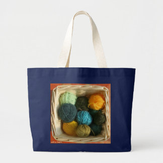 Basket of Yarn Knitting/Crochet Bag