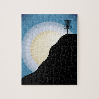 Basket On A Mountain Jigsaw Puzzle
