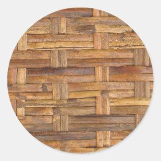 basket round sticker