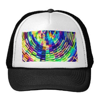 Basket Weave - Magical Diamond Raibow V1 Trucker Hat