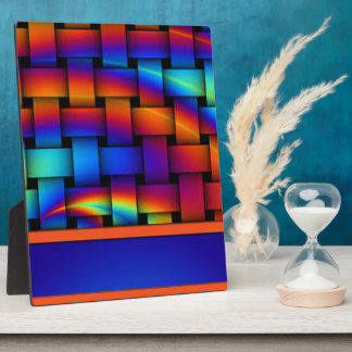 Basket Weave Pattern Design Plaque