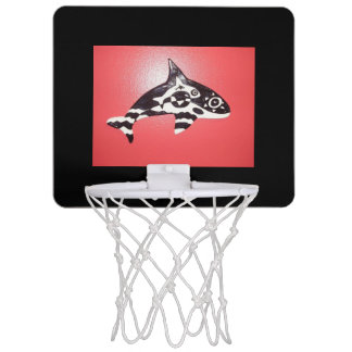 Basket Whaley Mini Basketball Hoop