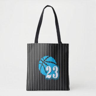 Basketball 23 All-Over-Print Tote Bag