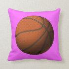 Basketball 2 throw pillow