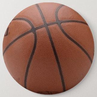 Basketball 6 Inch Round Button