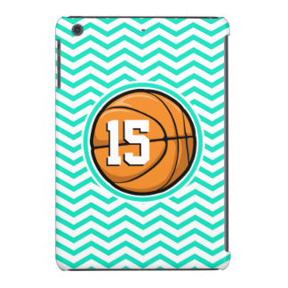 Basketball Aqua Green Chevron iPad Mini Cases