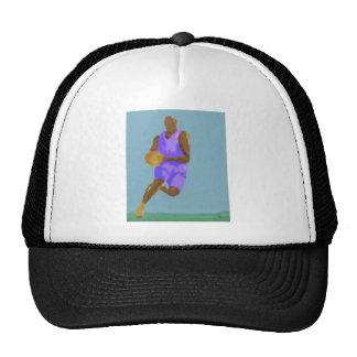 Basketball Art Trucker Hat