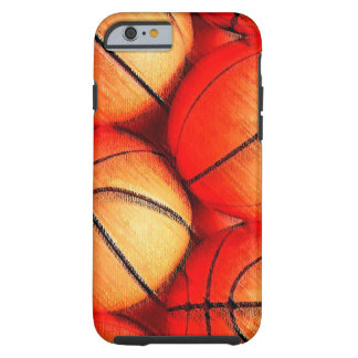 Basketball Artwork iPhone 6 Case