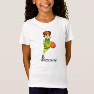 Basketball Baby Doll Shirt