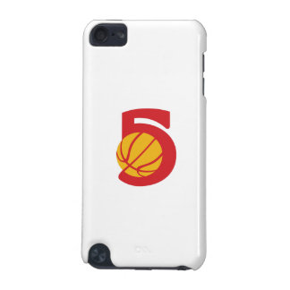 Basketball Ball Five Retro iPod Touch (5th Generation) Covers