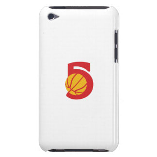 Basketball Ball Five Retro iPod Touch Cover