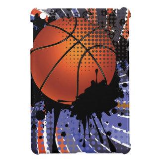 Basketball Ball on Rays Background 2 iPad Mini Case