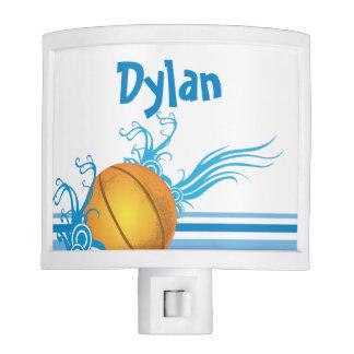 Basketball Ball Sports Game Personalized Name Nite Lite