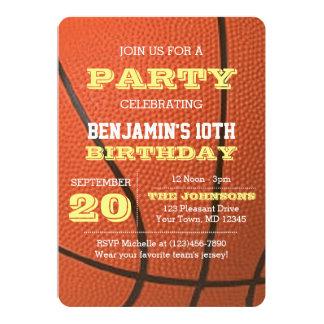 Basketball Birthday All Occasion Invitation
