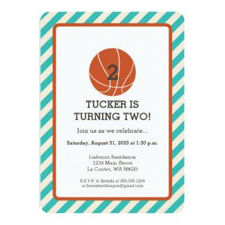 basketball birthday invitations  announcements  zazzle canada, Birthday card