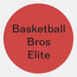 Basketball Bros Elite/Merch/Sticker Classic Round Sticker