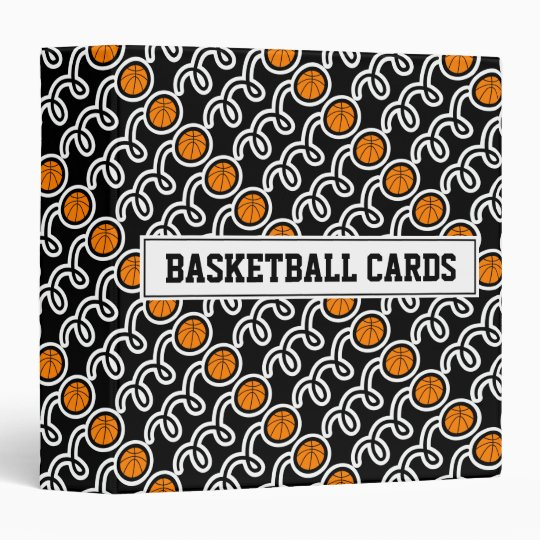 Basketball card binder for collectors (no sleeves)